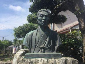 龍源寺近藤勇像の写真